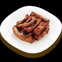 Свиные ребрышки деликатесные (средняя порция)